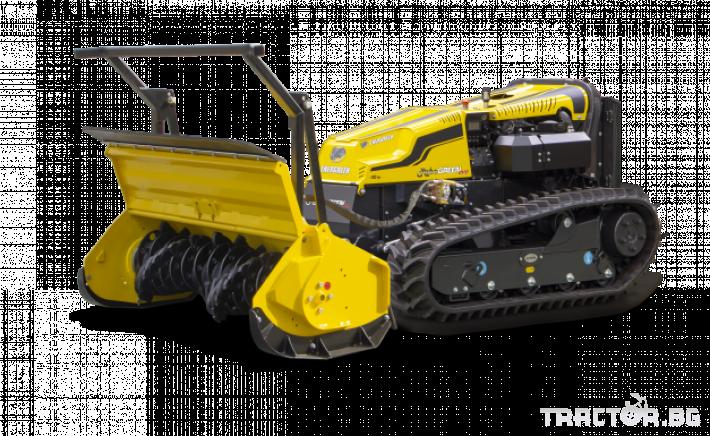 Мулчери мулчер - друг ENERGREEN Robo - самоходен верижен горски мулчер с дистанционно 0 - Трактор БГ