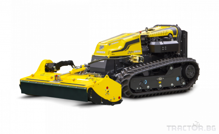 Мулчери мулчер - друг ENERGREEN Robo - самоходен верижен горски мулчер с дистанционно 1 - Трактор БГ