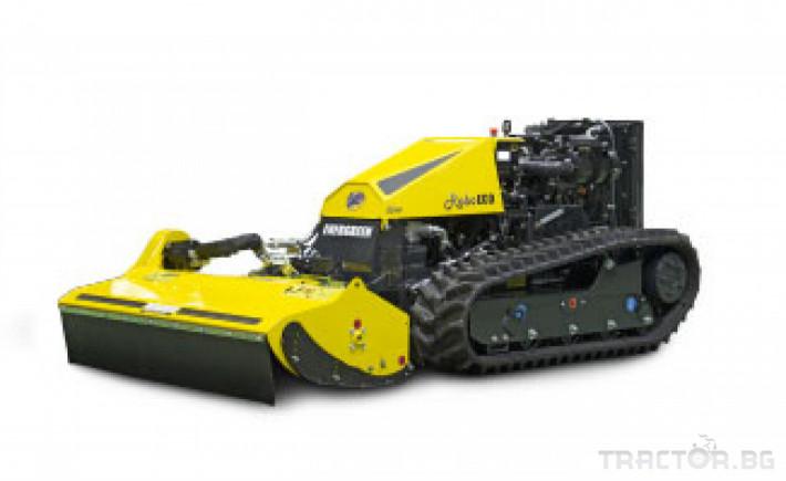 Мулчери мулчер - друг ENERGREEN Robo - самоходен верижен горски мулчер с дистанционно 6 - Трактор БГ