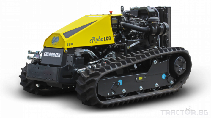 Мулчери мулчер - друг ENERGREEN Robo - самоходен верижен горски мулчер с дистанционно 9 - Трактор БГ