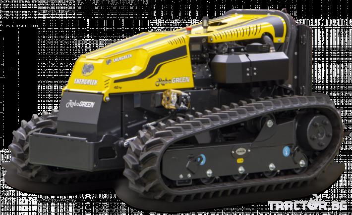 Мулчери мулчер - друг ENERGREEN Robo - самоходен верижен горски мулчер с дистанционно 11 - Трактор БГ