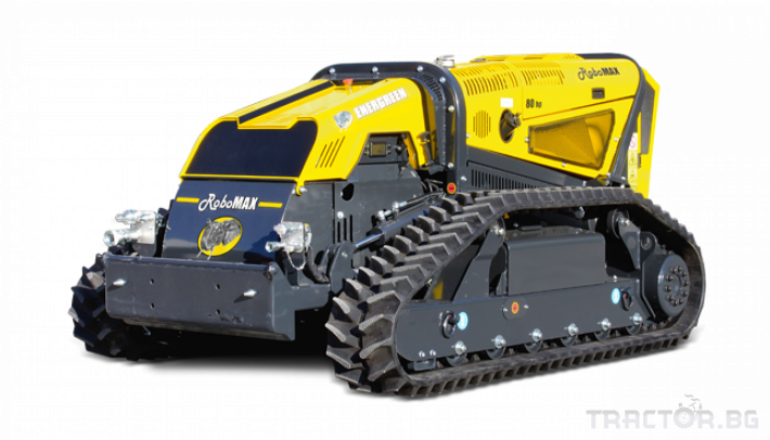 Мулчери мулчер - друг ENERGREEN Robo - самоходен верижен горски мулчер с дистанционно 13 - Трактор БГ