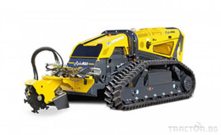 Мулчери мулчер - друг ENERGREEN Robo - самоходен верижен горски мулчер с дистанционно 17 - Трактор БГ