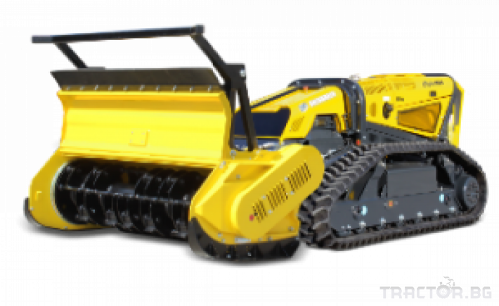 Мулчери мулчер - друг ENERGREEN Robo - самоходен верижен горски мулчер с дистанционно 18 - Трактор БГ