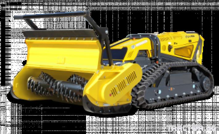 Мулчери мулчер - друг ENERGREEN Robo - самоходен верижен горски мулчер с дистанционно 19 - Трактор БГ