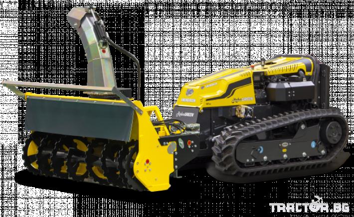 Мулчери мулчер - друг ENERGREEN Robo - самоходен верижен горски мулчер с дистанционно 22 - Трактор БГ