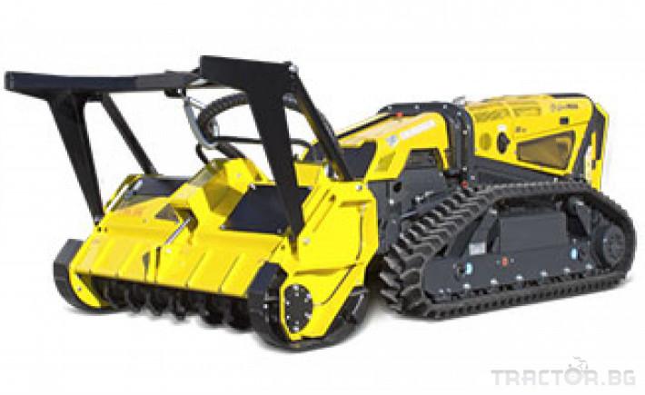 Мулчери мулчер - друг ENERGREEN Robo - самоходен верижен горски мулчер с дистанционно 23 - Трактор БГ