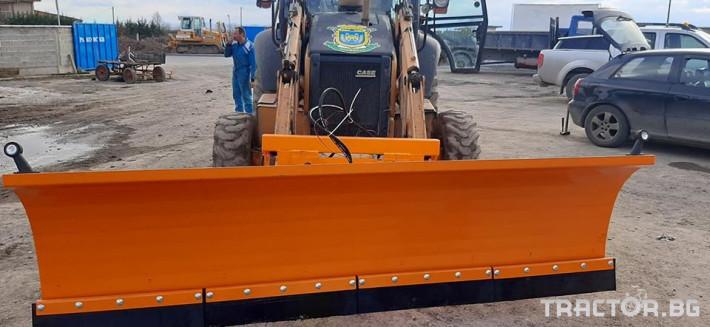 Техника за почистване Снегорин за комбиниран багер 1 - Трактор БГ