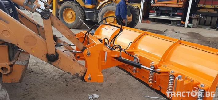 Техника за почистване Снегорин за комбиниран багер 6 - Трактор БГ