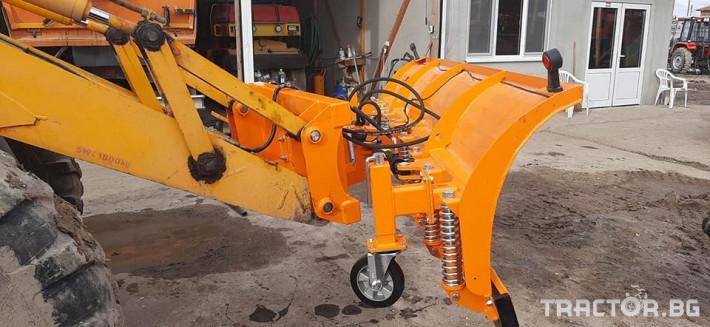 Техника за почистване Снегорин за комбиниран багер 7 - Трактор БГ