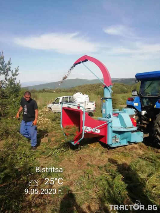 Машини за дърводобив НАЛИЧНА дробилка LAIMET HS21A 2 - Трактор БГ