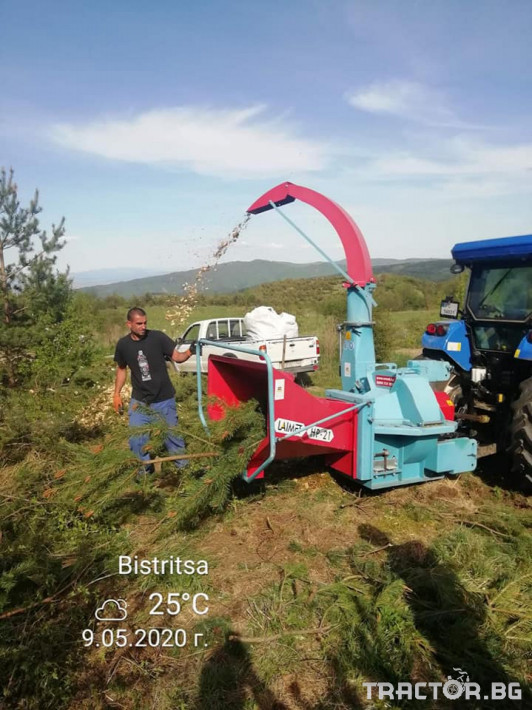 Машини за дърводобив НАЛИЧНА дробилка LAIMET HS21A 5 - Трактор БГ