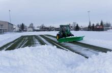 SAMI снегорин за футболни терени